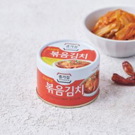 고소한 맛 종가집볶음김치 160G(캔)