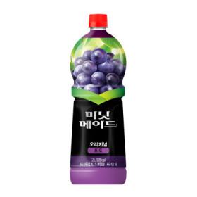 코카콜라 미닛메이드포도 1.2L