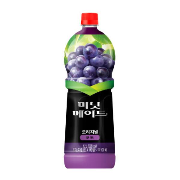 코카콜라 미닛메이드포도 1.2L 상품이미지