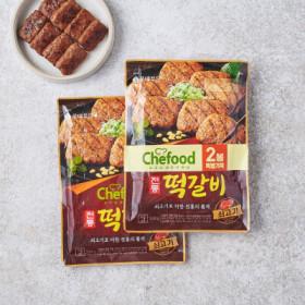 롯데푸드 전통소고기떡갈비 324G 2