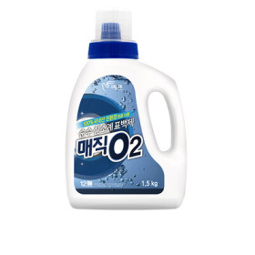 순수산소계표백제매직O2용기1.5KG