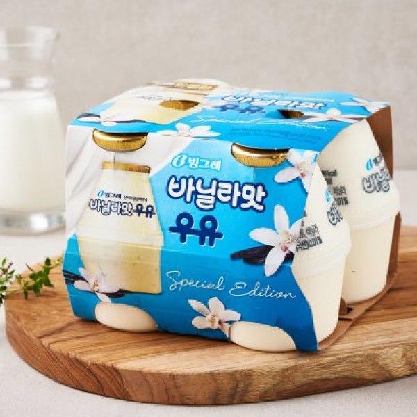 빙그레 바닐라맛우유 240ML 4개 상품이미지