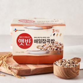 CJ 햇반 매일잡곡밥 210G 3