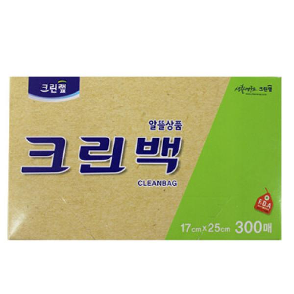 크린랩)알뜰크린백17 25(300매) 상품이미지