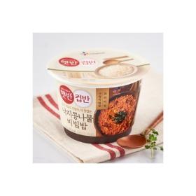 CJ 햇반 컵반 낙지콩나물비빔밥 216G