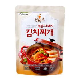 풀무원)찬마루_묵은지돼지김치찌개400G