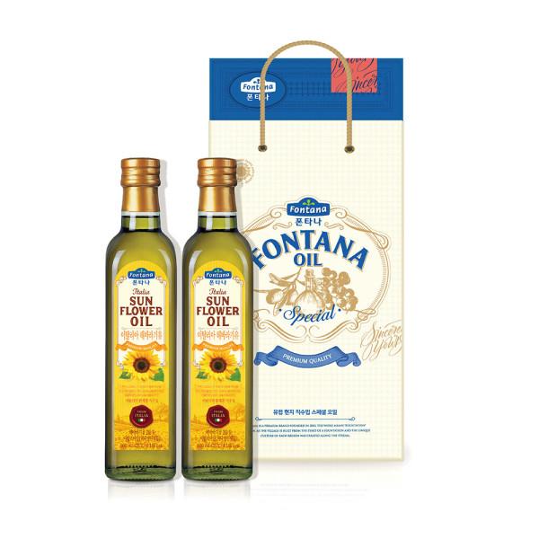 폰타나 스페셜 오일세트 7호 식용유/올리브유/선물세트 상품이미지