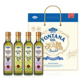 폰타나 스페셜 오일세트 4호 식용유/올리브유/선물세트