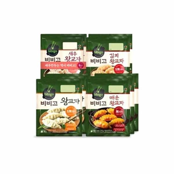 파격구성  왕교자3봉 + 매운교자3봉+새우2봉+김치2봉 상품이미지