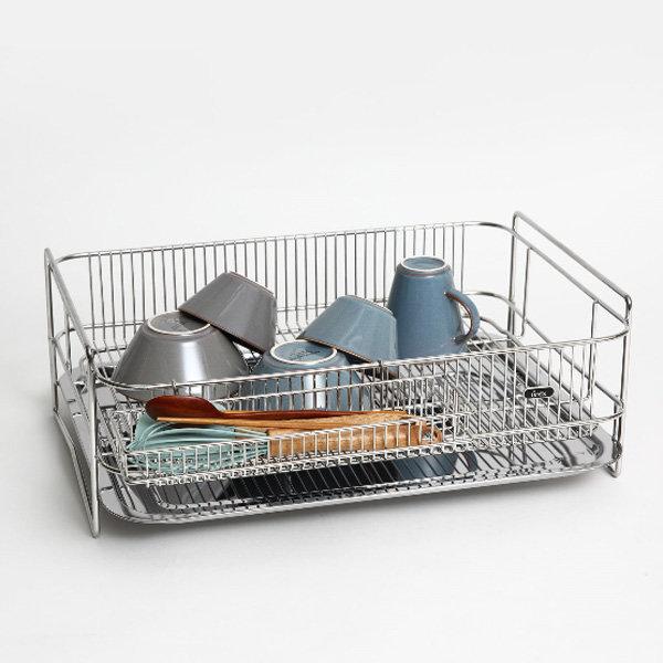 솔리드 1단 특대형 올스텐 식기건조대 설거지건조대 상품이미지