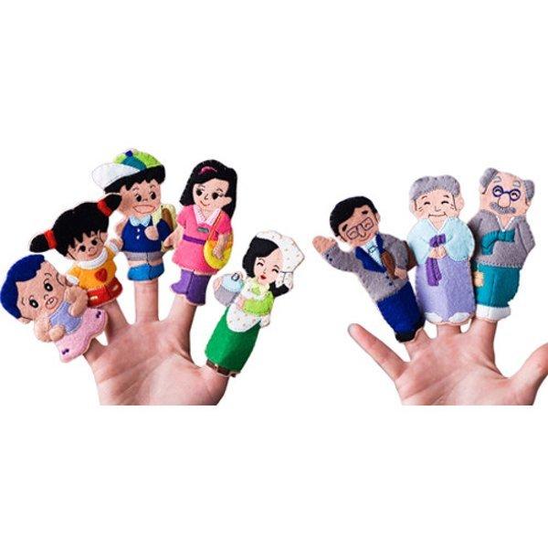 매직캐슬 손가락인형:가족이야기 상품이미지