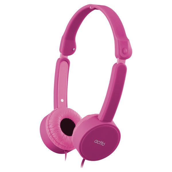 어린이 청력보호 헤드폰 BKS-76 (핑크) 파우치 포함 상품이미지