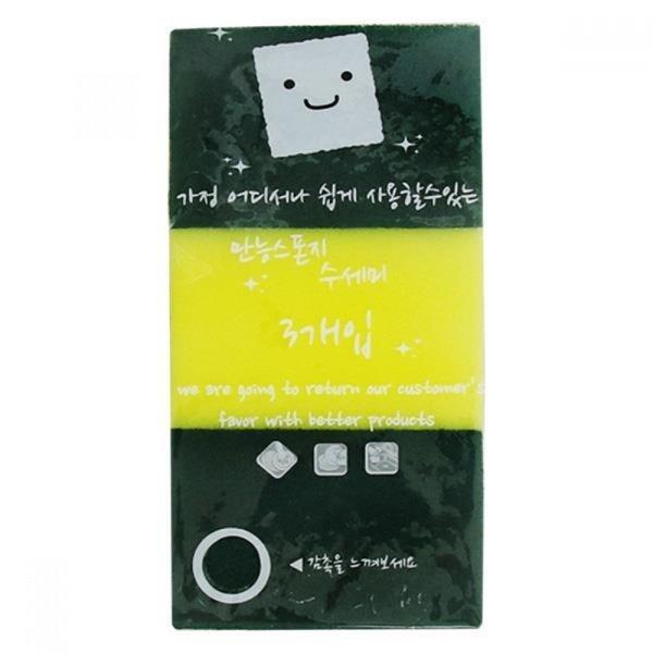 미소진만능스폰지수세미(3P) 상품이미지