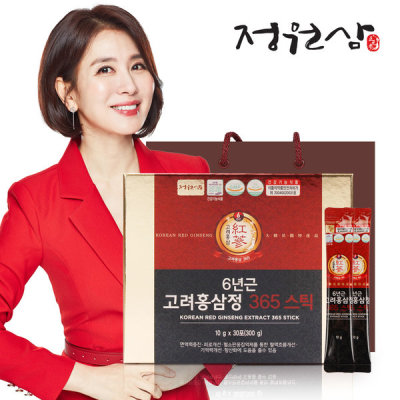 [Jungwonsam] Jungwonsam 6-year-old Korean Red Ginseng Extract 365 Stick/red ginseng stick/global
