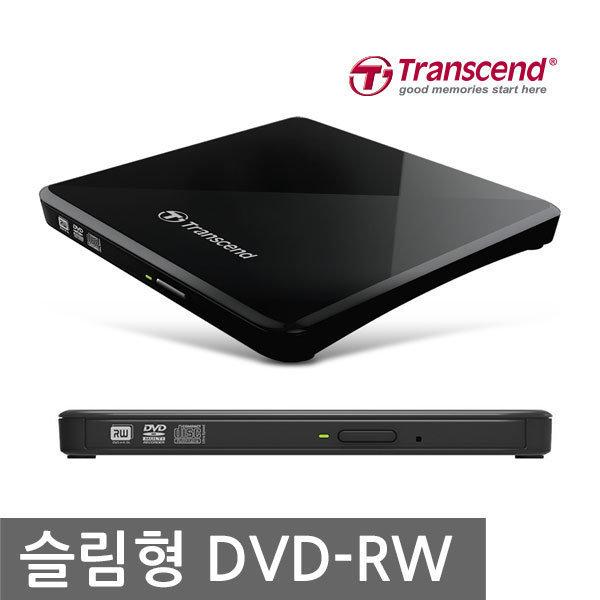 TS8XDVDS-K 초슬림 외장 ODD DVD-RW 상품이미지