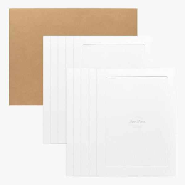 A3 / 12x17 포토프레임 스토리지 박스세트-화이트10매 상품이미지