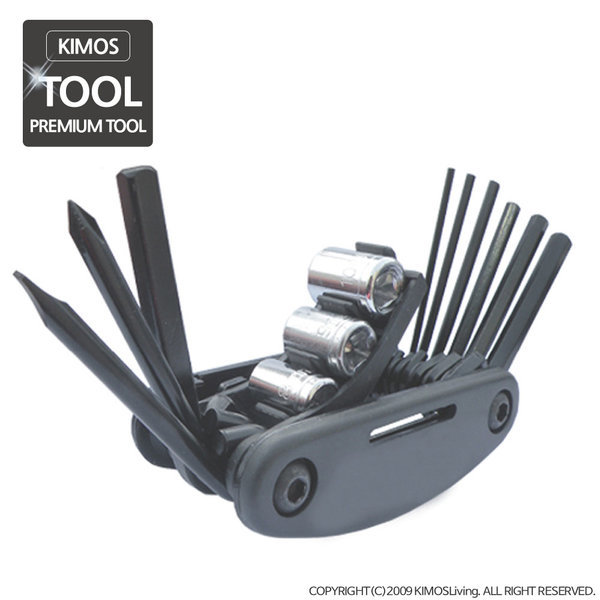 (KIMOS)자전거공구 세트 자전거용품 수리 정비 수공구 상품이미지
