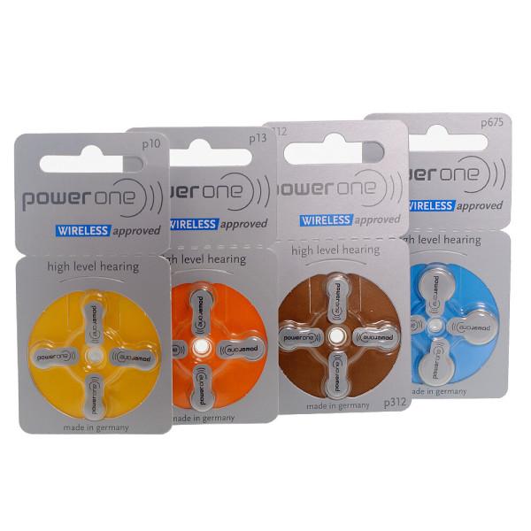 독일 파워원 보청기 밧데리 1팩(4알)/배터리타입선택 상품이미지