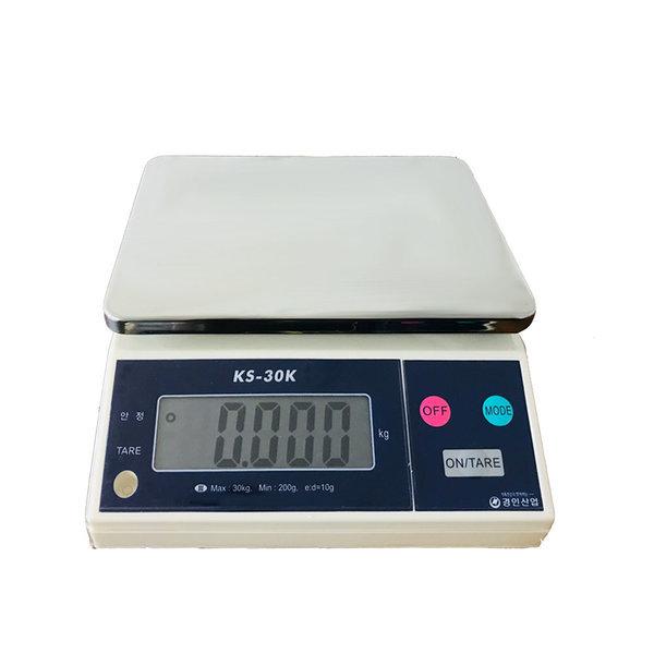 저울 KS - 30kg(10g) 전자저울 주부저울 양면표시 상품이미지