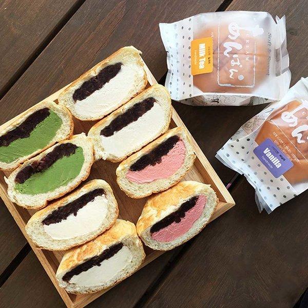 차갑게 얼려먹는 수제 아이스크림빵 앙빵 상품이미지