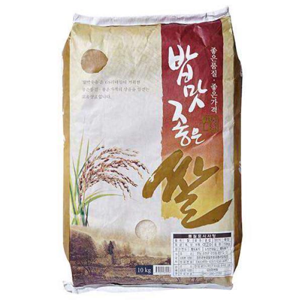 밥맛좋은쌀 10KG(18년산) 상품이미지