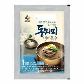 CJ 동치미 냉면 육수 300g(1인분)