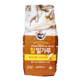 백설 찰밀가루 1kg