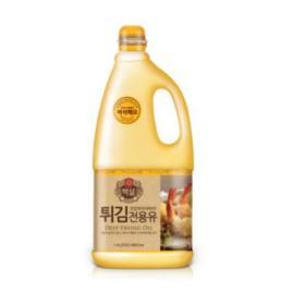백설 튀김 전용유 1.8L