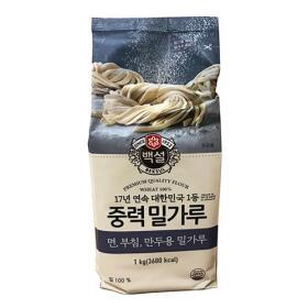 백설 중력밀가루 1kg