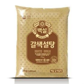 백설 갈색 설탕 3KG