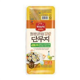 하선정 김밥 단무지 370g