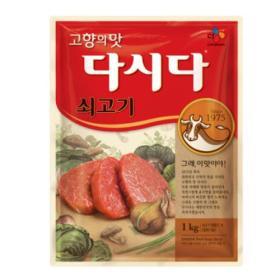 CJ 쇠고기 다시다 1kg