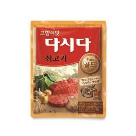 CJ 쇠고기 다시다 명품골드 100g