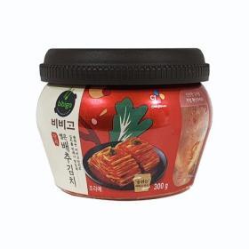 비비고 썰은배추김치 300g(용기)