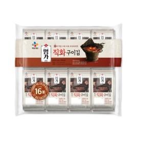 비비고 직화 구이김 4.5g x 16봉