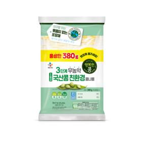 행복한콩 국산콩 콩나물 380g