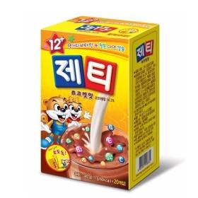 제티 초콜릿 스틱형 17G 20입