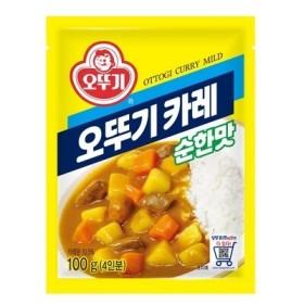 오뚜기카레 순한맛 100G