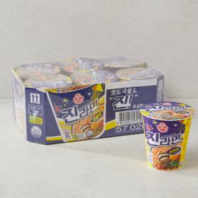 오뚜기 진라면(컵) 순한맛 65G*6입