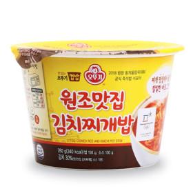 오뚜기)맛있는오뚜기컵밥원조맛집김치찌개밥280G
