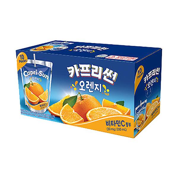 농심 카프리썬(오렌지) 200ml x 10입 상품이미지