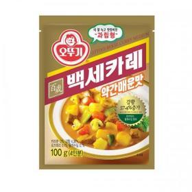 오뚜기 백세카레(약간매운맛) 100g