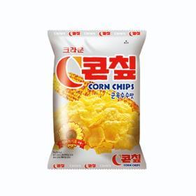 크라운 콘칩(군옥수수맛) 70g