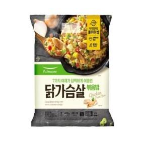 풀무원 7가지 야채와 닭가슴살 볶음밥 450G