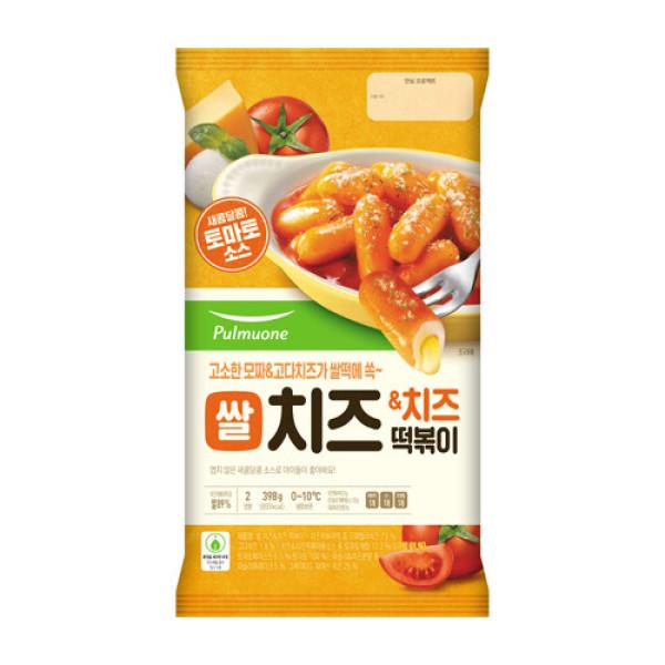풀무원 바로조리 치즈   치즈 떡볶이 398G 상품이미지
