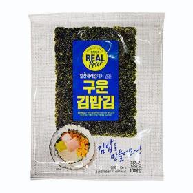리얼)구운 김밥김 10매(23G)