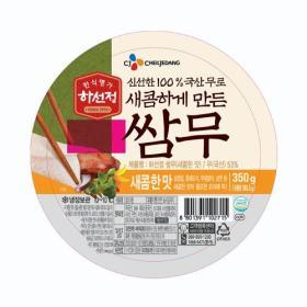 CJ 하선정 쌈무 새콤한맛 350G