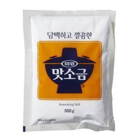 청정원 미원 맛소금 500g