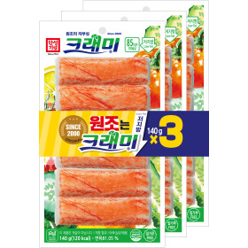 한성 크래미 맛살 140g x 3입