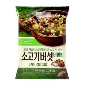 풀무원 소고기버섯비빔밥 2인분 424G